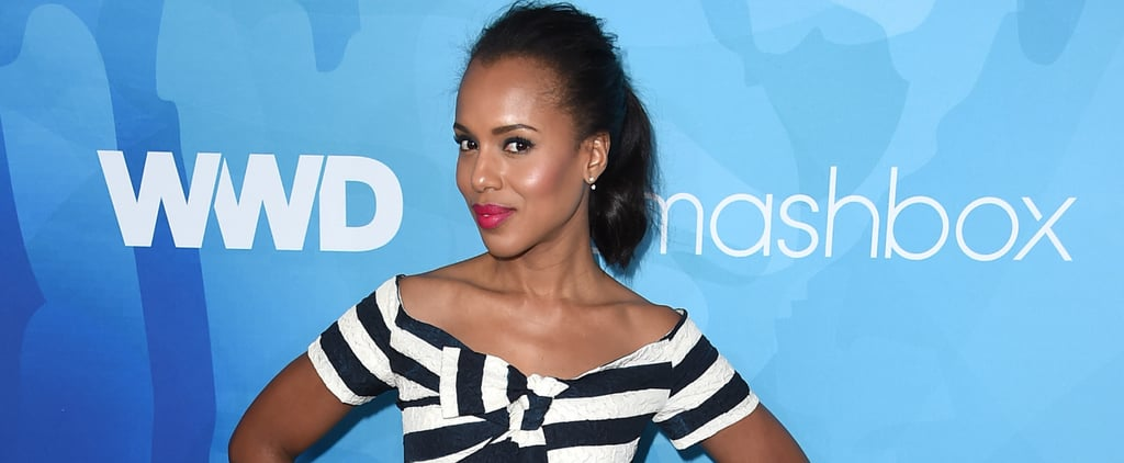 It's Almost as If Kerry Washington Gets More Gorgeous by the Day
