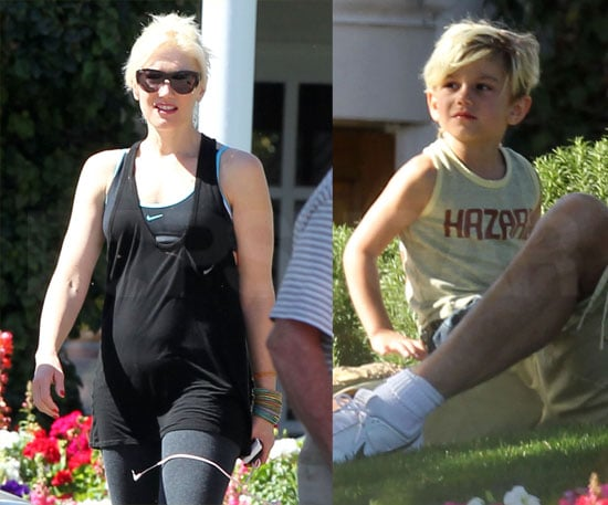 Gwen and Gavin Relax in the Desert With Kingston as She Shares a Wedding Memento With the World