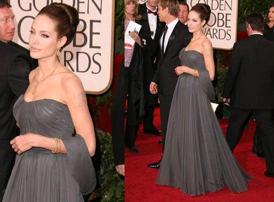 The Golden Globes Red Carpet: Angelina Jolie