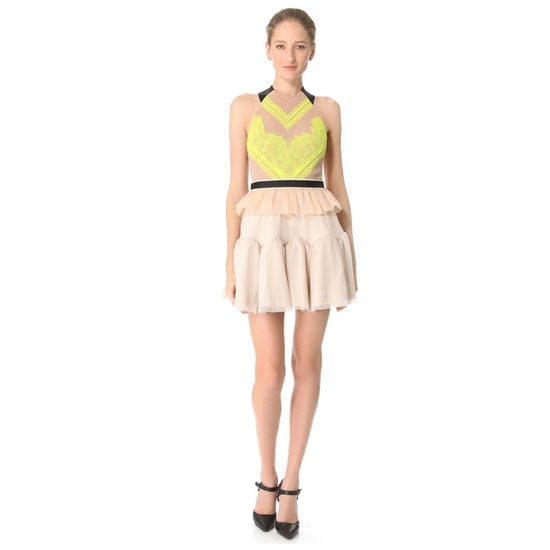 """I like to keep things fun yet still appropriate for work functions, and this dress has just enough sex-appeal without being too """"nightclub"""".— Marisa, publisher Dress, $333, Three Floor at Shopbop"""