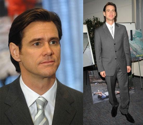 Jim Carrey's Suave New Haircut = Yay!