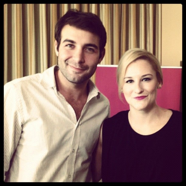 Political Animals star James Wolk joined us for an interview in LA.