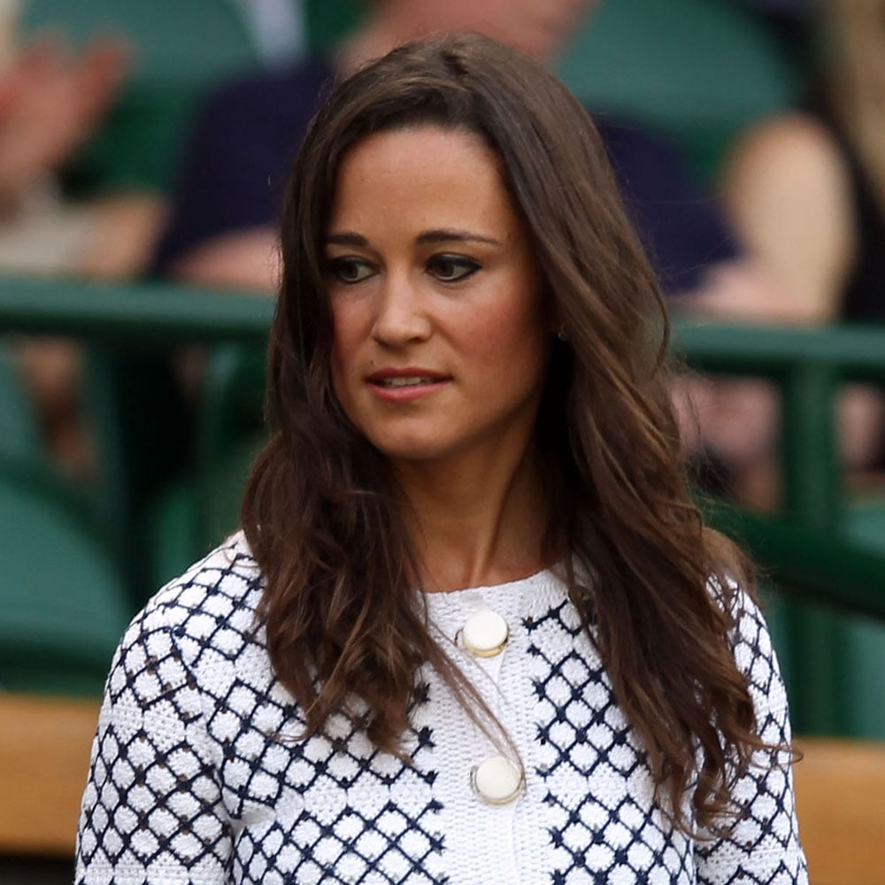 At day four of Wimbledon in June 2012.