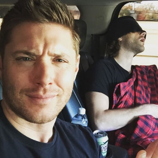 Supernatural Cast on Social Media