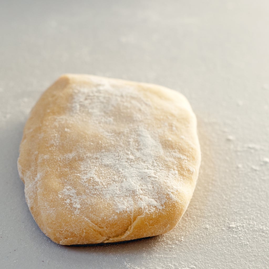 Prep the Dough For the Pasta Roller