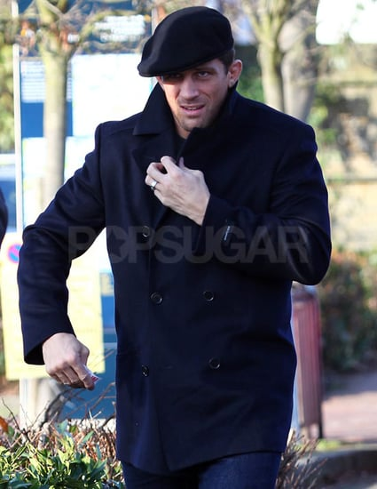Pictures of Alex Reid Wearing His Wedding Ring After Katie Price Announced Separation