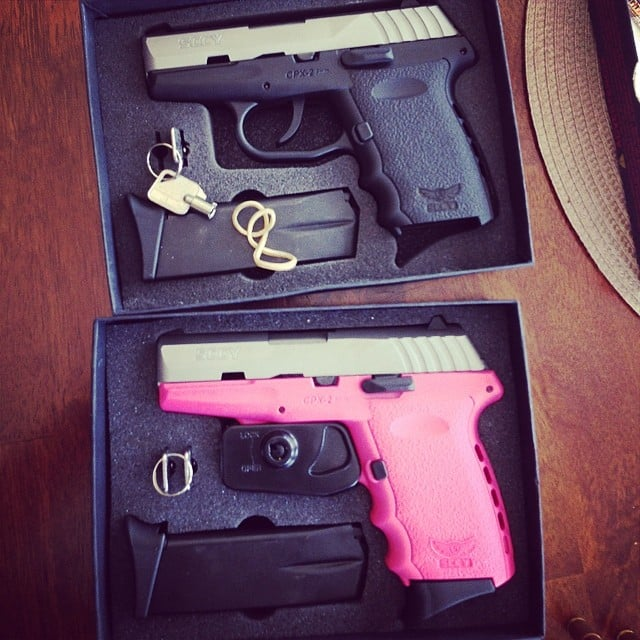 "A Pink Gun to ""Put the Fear of God Into Some Kid at the Door"""