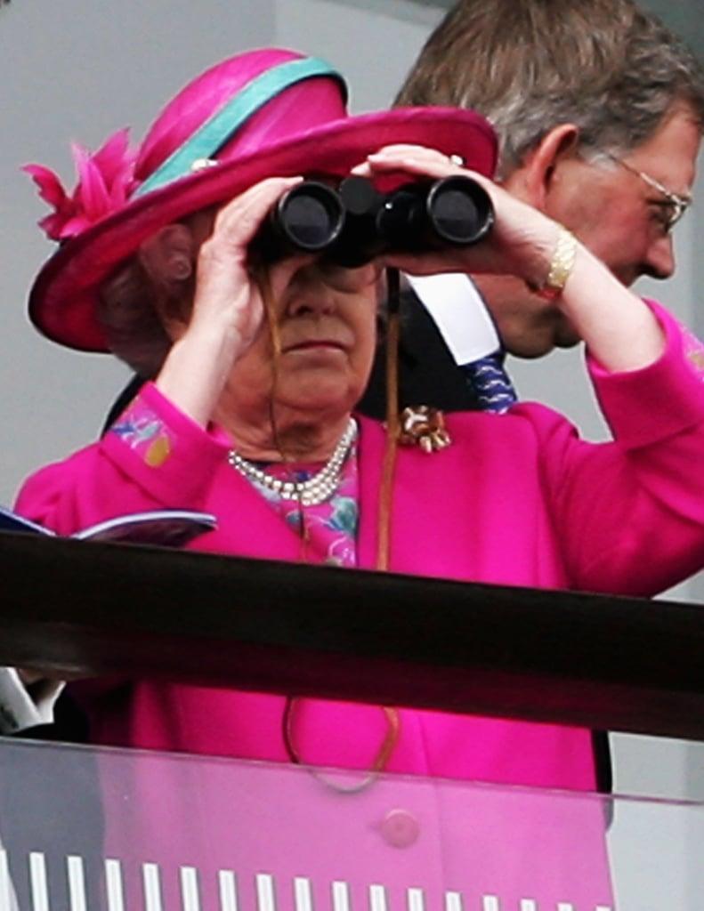 Least: When She Used Binoculars