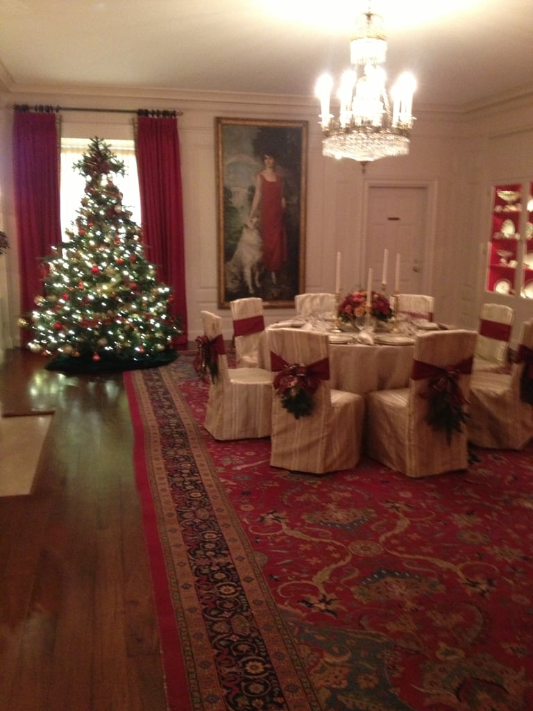 The China Room features the state china of presidents who ordered unique sets, though not every president did so.
