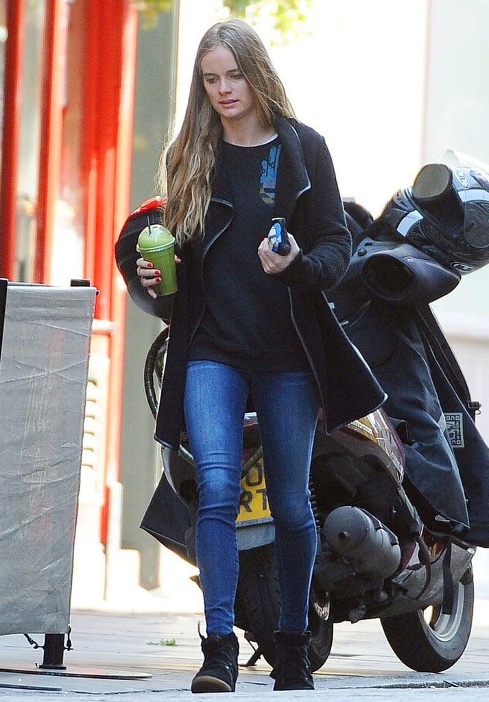 Cressida Bonas Wearing Isabel Marant Sneakers in London