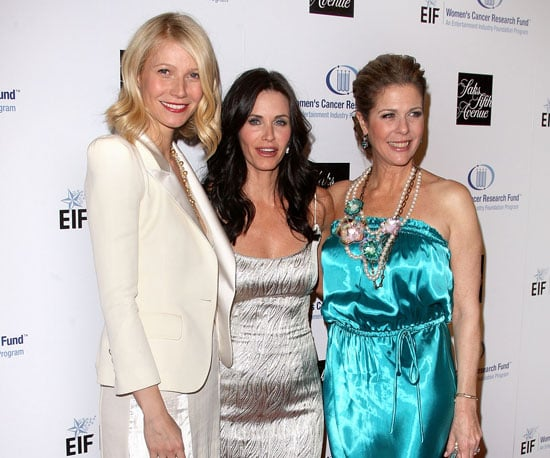 Photo of Gwyneth Paltrow, Courteney Cox and Rita Wilson at the Unforgettable Evening Benefit
