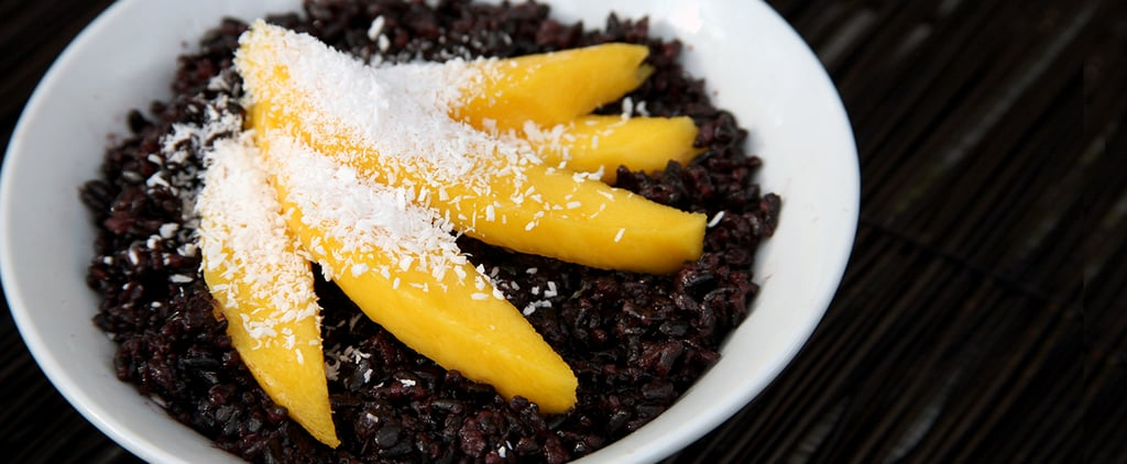Coconut Black Rice With Fresh Mango Is a Superfood-Charged Breakfast Worth Waking Up For
