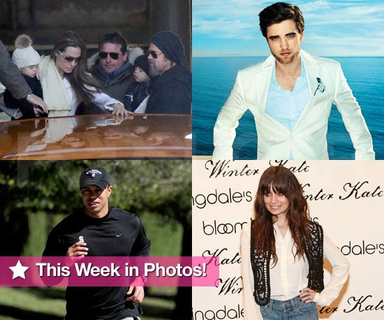 Slideshow of Photos and This Week's Celebrity News About Robert Pattinson, Tiger Woods, Kristen Stewart and Nicole Richie