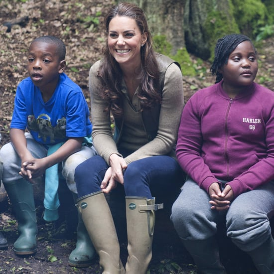Kate Middleton Camping Expanding Horizons Pictures