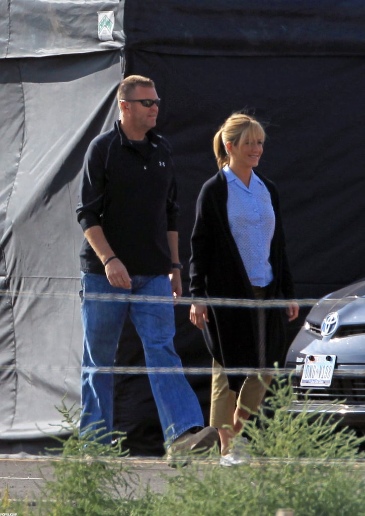 Jennifer Aniston filmed for We're the Millers in New Mexico.