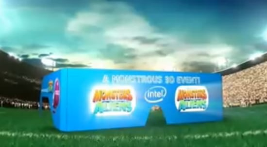Watch the Monsters vs. Aliens Trailer in 3D During Super Bowl Sunday