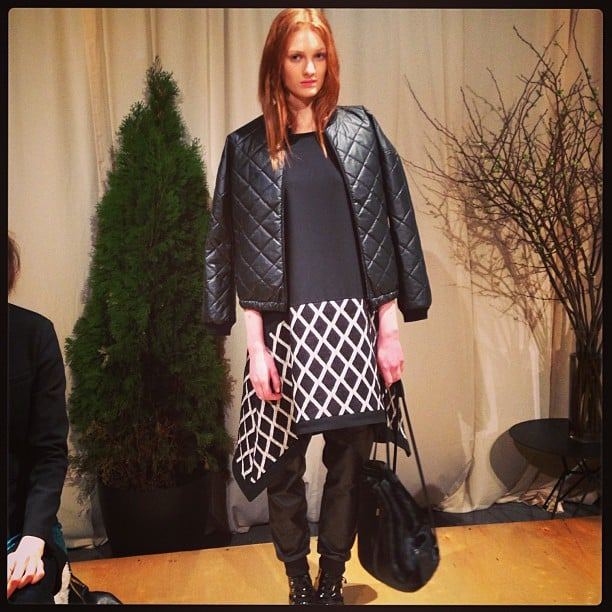 Quilted leather and crisscross prints are cool-girl must haves for Fall.
