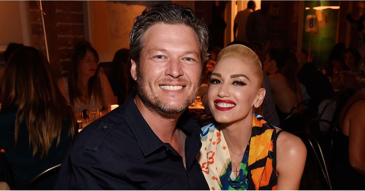 Gwen Stefani and Blake Shelton in the Hamptons August 2016 | POPSUGAR Celebrity UK