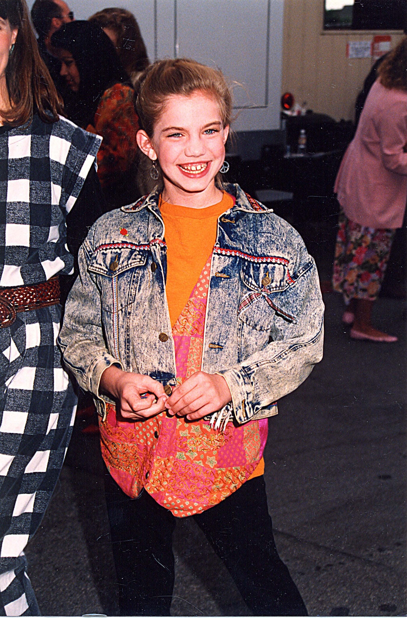 Anna Chlumsky and Macaulay Culkin, 1992
