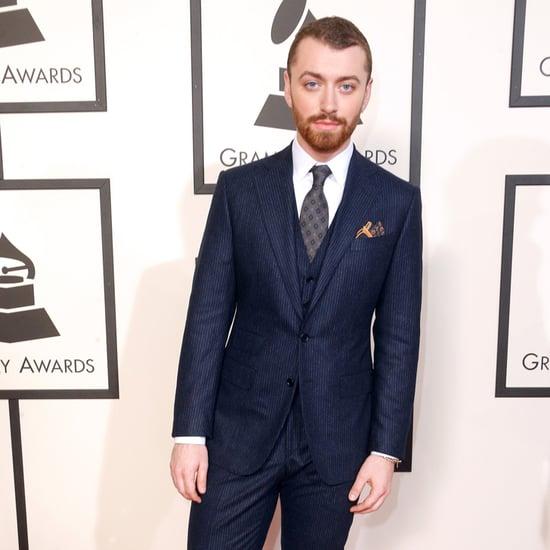 Sam Smith at 2016 Grammys