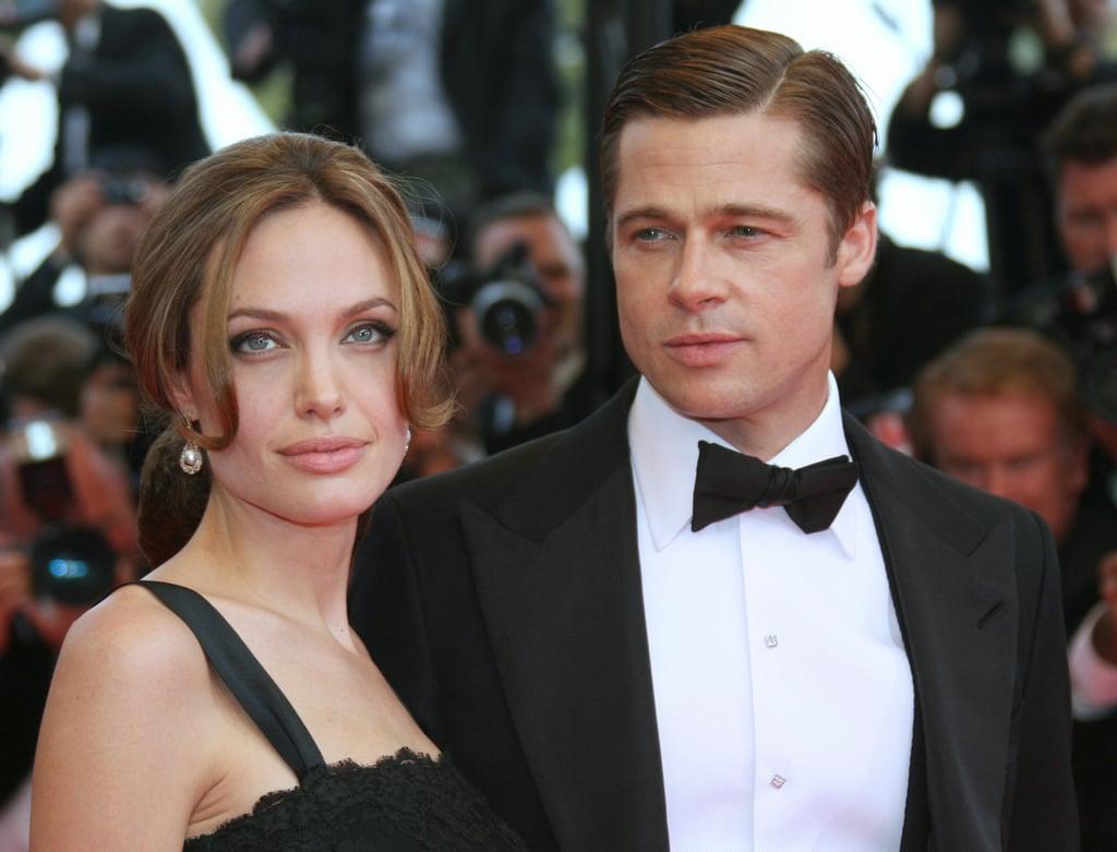 Angelina Jolie and Brad Pitt in 2007