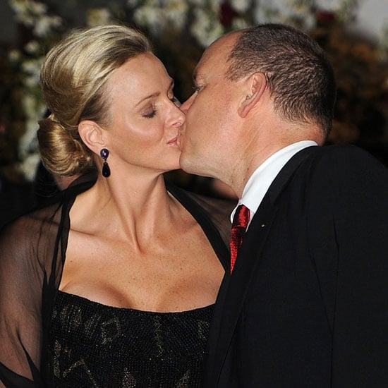 Princess Charlene and Prince Albert Making Out in South Africa Pictures