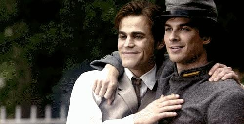 """He's one half of the brothers Salvatore. That's Stefan, the """"good one."""""""