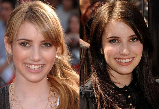 Do You Prefer Emma Roberts As a Blonde or Brunette?