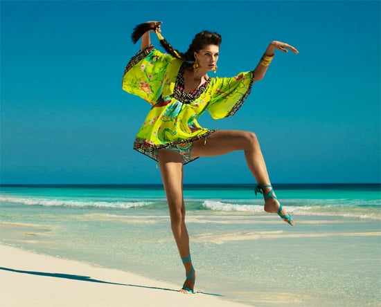 Matthew Williamson for H and M Summer Campaign Daria Werbowy