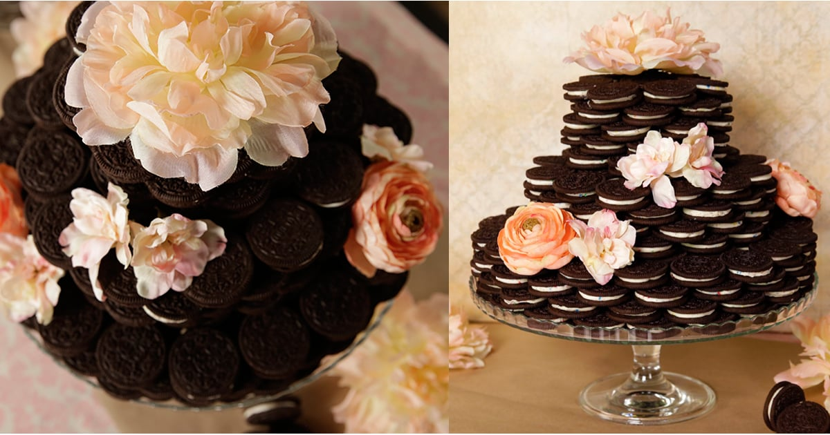 Oreo Wedding Cake Food Video Popsugar Food