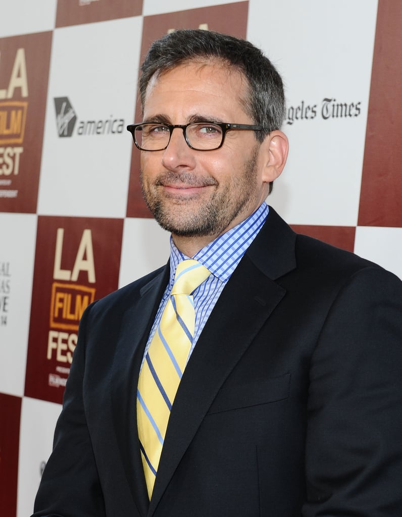 Steve Carell smiled at the LA premiere of Seeking a Friend For the End of the World.