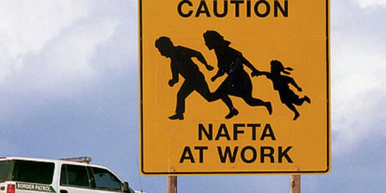 Trump Going to Mexico is not the Real Irony. NAFTA Is.