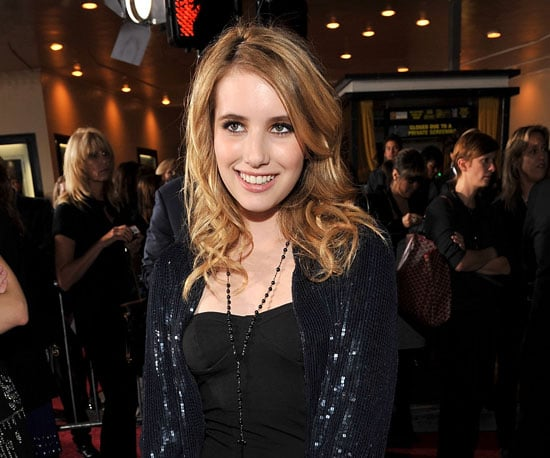 Slide Photo of Emma Roberts at New Moon LA Premiere
