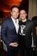 Ben Affleck posed with Jimmy Kimmel backstage.