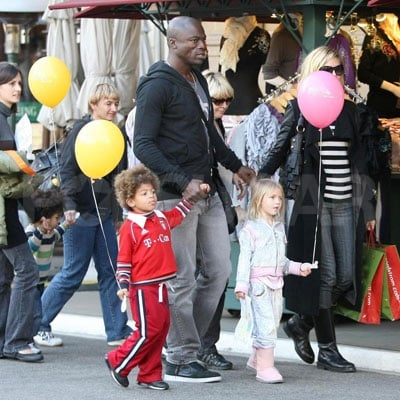 Heidi and Seal's Family Day
