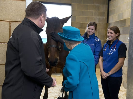 Queen Elizabeth Meets Mary Tudor (The Horse!)