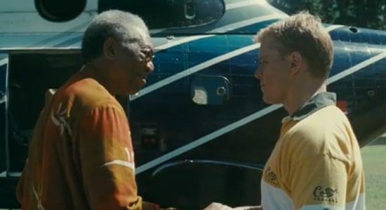 Video Trailer of Matt Damon and Morgan Freeman in Nelson Mandela Biopic Film Invictus 2009-10-28 12:30:12