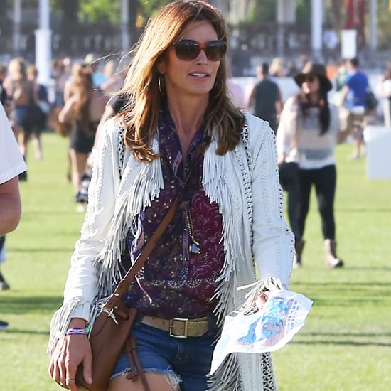 Cindy Crawford Outfit at Coachella 2016