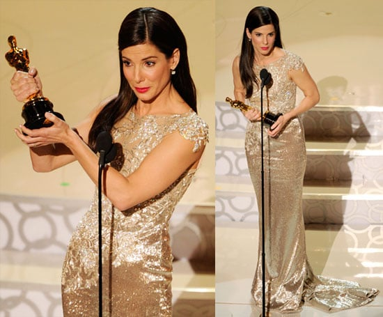 Photos and Quotes of Sandra Bullock From Press Room at the Oscars