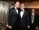 Leo and Christoph Waltz matched up in their bow ties at the Weinstein bash.