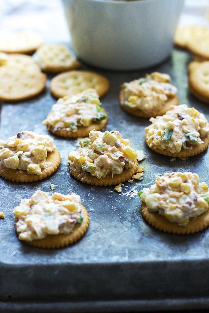 Cheesy Corn and Chipotle Dip