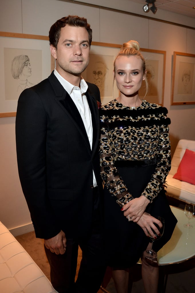 Joshua Jackson and Diane Kruger posed together at the Inescapable premiere at the Toronto International Film Festival.