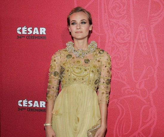 Photo of Diane Kruger at the Cesar Film Awards in Paris