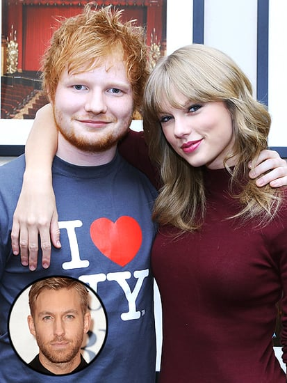 Ed Sheeran Gives Taylor Swift and Calvin Harris His Stamp of Approval