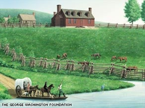Archaeologists Find Remains of Washington's Boyhood Home