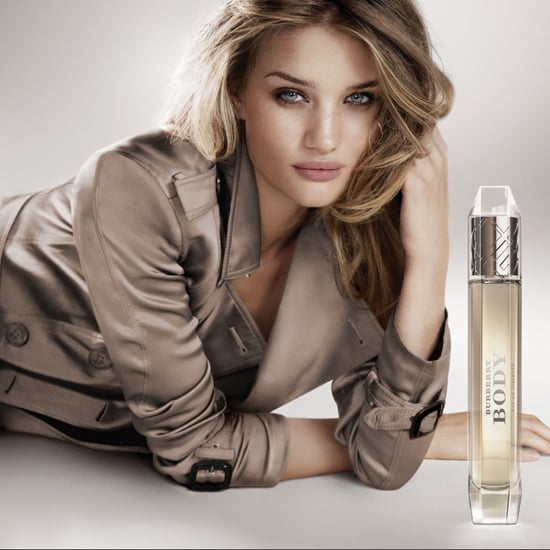 Rosie Huntington-Whiteley Gets Her Trench Out Again for Burberry Body EDT