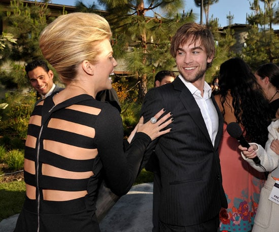 Photo Slide of AnnaLynne McCord and Chace Crawford at a Party in LA