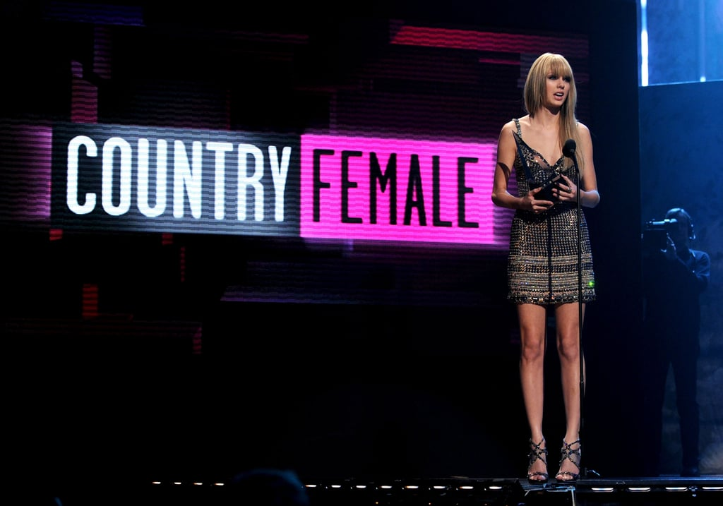Taylor stands alone.