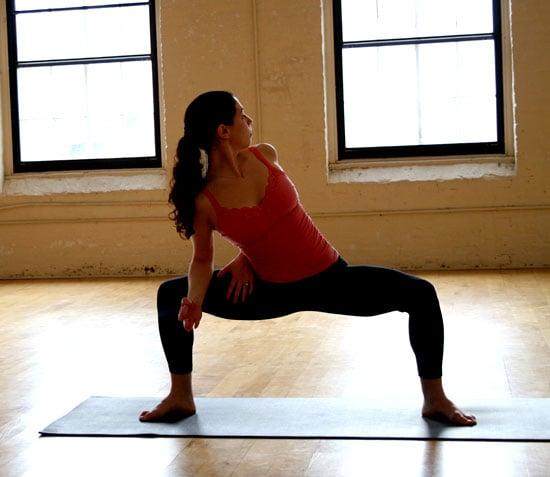 Yoga Pose of the Week: Twisting Goddess