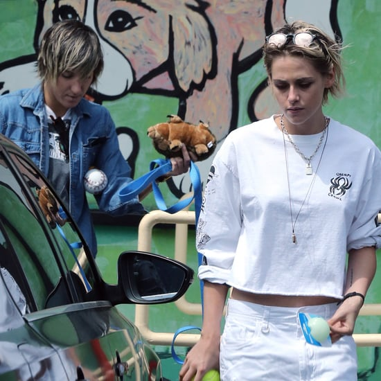 Alicia Cargile and Kristen Stewart Out in LA August 2016